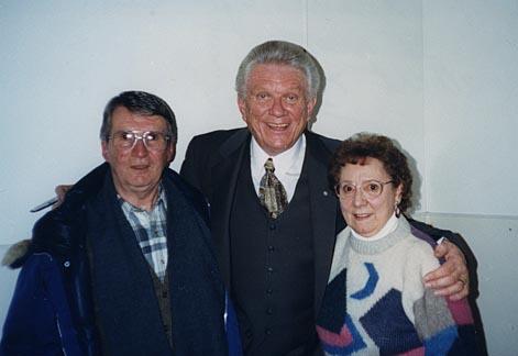 Lloyd & Florence Eytcheson meet Tommy posing.